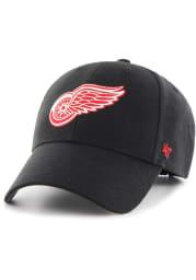 47 Detroit Red Wings Primary MVP Adjustable Hat - Black