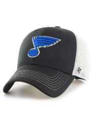 '47 St Louis Blues Cutback MVP Adjustable Hat - Black