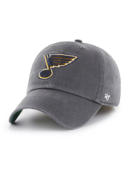 47 St Louis Blues Mens Charcoal Franchise Fitted Hat