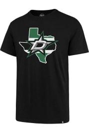 47 Dallas Stars Black Regional Short Sleeve T Shirt