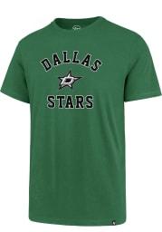 47 Dallas Stars Kelly Green Varsity Arch Short Sleeve T Shirt