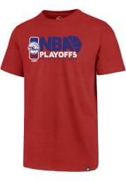 47 Philadelphia 76ers Red Club Short Sleeve T Shirt