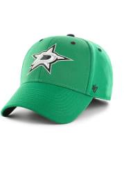 47 Dallas Stars Mens Kelly Green Kickoff Contender Flex Hat