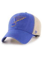 47 St Louis Blues Flagship Wash MVP Adjustable Hat - Blue