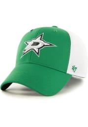 47 Dallas Stars Mens Kelly Green Offense Contender Flex Hat