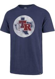 47 Texas Rangers Blue Scrum Short Sleeve Fashion T Shirt