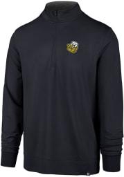 47 Michigan Wolverines Mens Navy Blue Relay Long Sleeve 1/4 Zip Pullover