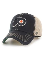 47 Philadelphia Flyers Trawler Clean Up Adjustable Hat - Black