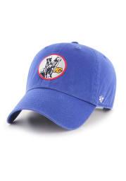47 Kansas City Scouts Clean Up Adjustable Hat - Blue