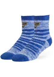 St Louis Blues Snug Womens Quarter Socks
