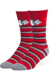 Chicago Blackhawks Macalister Flat Mens Dress Socks