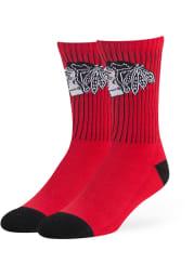 Chicago Blackhawks 47 Strikethrough Mens Crew Socks