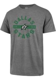 47 Dallas Stars Grey Roundabout Short Sleeve T Shirt
