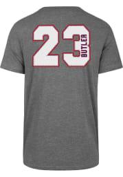 Jimmy Butler Philadelphia 76ers Grey MVP Super Rival Short Sleeve Player T Shirt