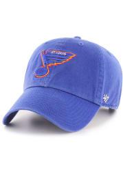 '47 St Louis Blues Mens Blue Retro Franchise Fitted Hat