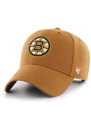 '47 Boston Bruins Carhartt MVP Adjustable Hat - Brown