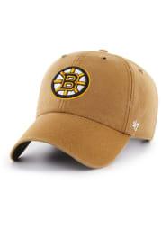 47 Boston Bruins Carhartt Clean Up Adjustable Hat - Brown