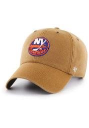 47 New York Islanders Carhartt Clean Up Adjustable Hat - Brown