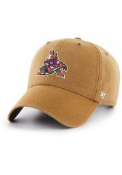 '47 Arizona Coyotes Carhartt Clean Up Adjustable Hat - Brown
