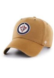 '47 Winnipeg Jets Carhartt Clean Up Adjustable Hat - Brown