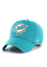 47 Miami Dolphins Clean Up Adjustable Hat - Teal