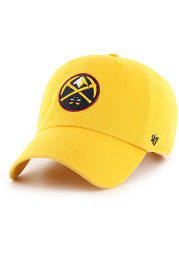47 Denver Nuggets Clean Up Adjustable Hat - Yellow