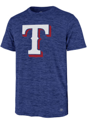 47 Texas Rangers Blue Topmark Impact Short Sleeve T Shirt