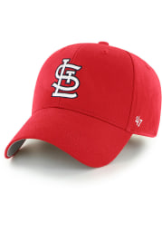 47 St Louis Cardinals Red Basic MVP Youth Adjustable Hat