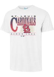 47 St Louis Cardinals White Vintage Tubular Short Sleeve Fashion T Shirt