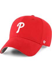 47 Philadelphia Phillies Baby Basic MVP Adjustable Hat - Red