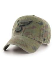 47 St Louis Blues Tonal Movement Clean Up Adjustable Hat - Green