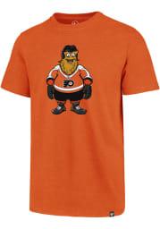Gritty # Philadelphia Flyers Orange 47 Club Short Sleeve T Shirt
