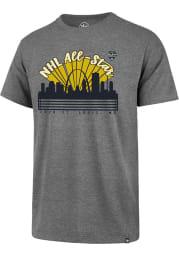 47 St Louis Blues Grey NHL All Star Game 2020 Short Sleeve T Shirt