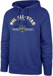 47 St Louis Blues Mens Blue All Star Game 2020 Long Sleeve Hoodie