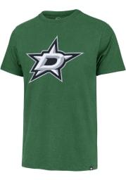 47 Dallas Stars Kelly Green Franklin Knockout Fieldhouse Short Sleeve Fashion T Shirt