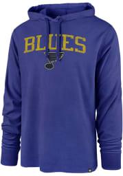 47 St Louis Blues Mens Blue Power Up Club Long Sleeve Hoodie