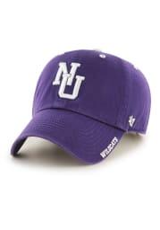 47 Northwestern Wildcats Retro Ice Clean Up Adjustable Hat - Purple