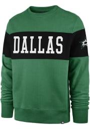 47 Dallas Stars Mens Kelly Green Interstate Long Sleeve Fashion Sweatshirt