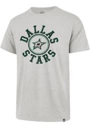 47 Dallas Stars Grey Relay Franklin Short Sleeve Fashion T Shirt