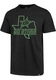 47 Dallas Stars Black Regional Club Short Sleeve T Shirt