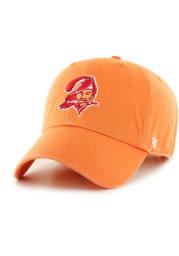 47 Tampa Bay Buccaneers Clean Up Adjustable Hat - Orange