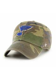 47 St Louis Blues Clean Up Adjustable Hat - Green