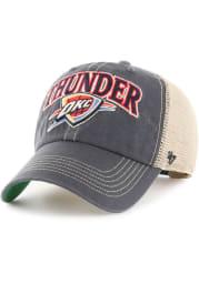 47 Oklahoma City Thunder Tuscaloosa Clean Up Adjustable Hat - Navy Blue