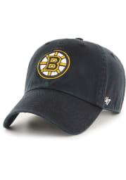 47 Boston Bruins Clean Up Adjustable Hat - Black