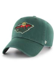 47 Minnesota Wild Clean Up Adjustable Hat - Green