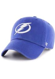 47 Tampa Bay Lightning Clean Up Adjustable Hat - Blue