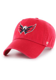 47 Washington Capitals Clean Up Adjustable Hat - Red