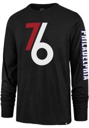 47 Philadelphia 76ers Black City Series Rival Long Sleeve T Shirt