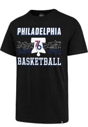 47 Philadelphia 76ers Black City Series Rival Short Sleeve T Shirt