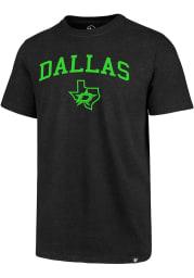 47 Dallas Stars Black Arch Game Club Short Sleeve T Shirt